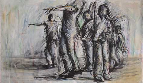 cate riley art - Dance