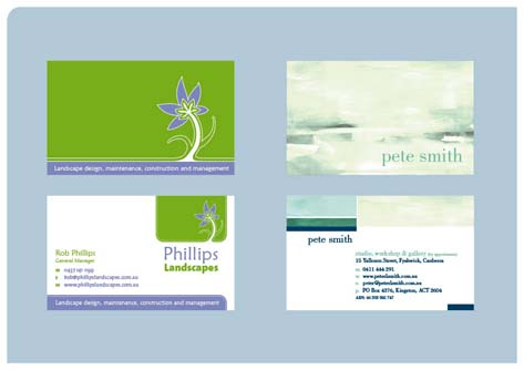 fadstudios design - business card design 1