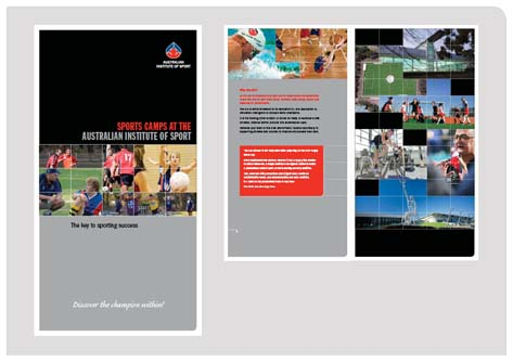 fadstudios design - Sports Camps Brochure