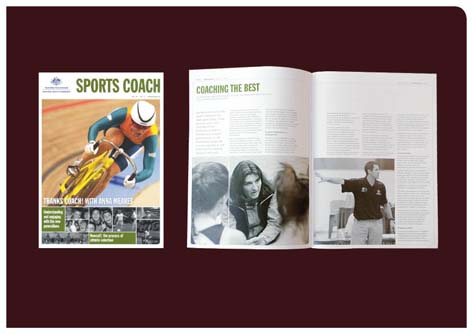 fadstudios design - Sports Coach magazine