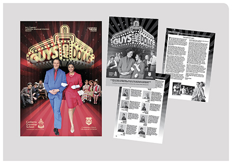 fadstudios design - Guys and Dolls program