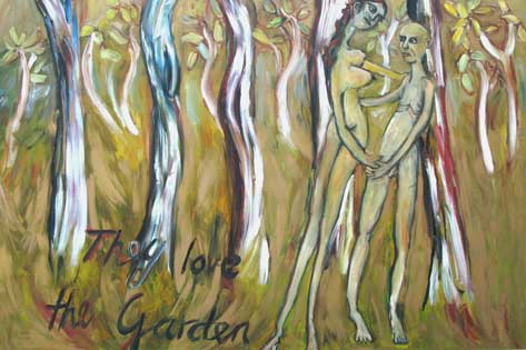 Rob Riley - They Love the Garden (series of six)